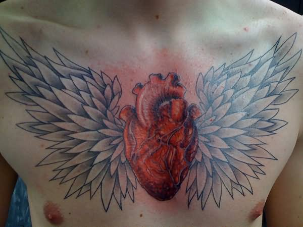 26 Awesome Real Heart Tattoos Designs And Images Ideas And Designs