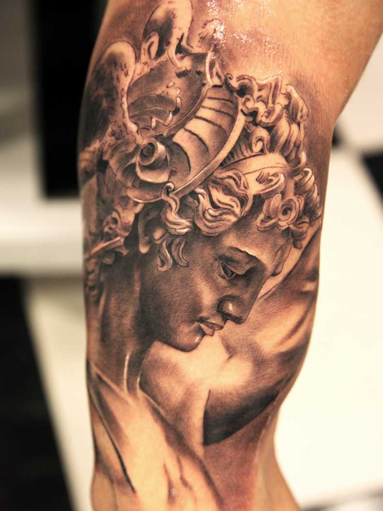 22 Inspirational Greek Tattoo Images Pictures And Ideas Ideas And Designs