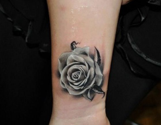 22 Awesome White Rose Tattoo Images Pictures And Design Ideas Ideas And Designs