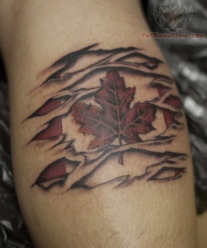 22 Torn Skin Tattoo Images Pictures And Design Ideas Ideas And Designs