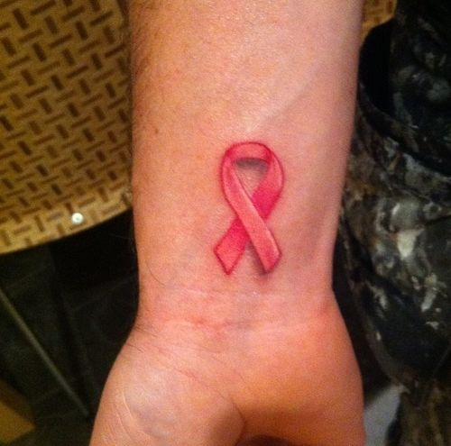 33 Cute Br**St Cancer Tattoo Designs Images And Pictures Ideas And Designs