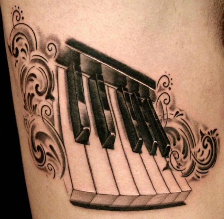 45 Awesome Keyboard Tattoos Ideas And Designs