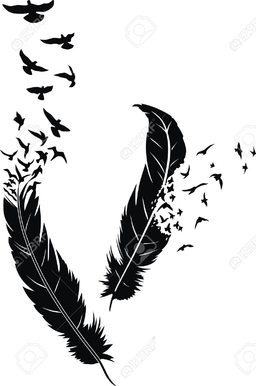 11 Pigeon Feather Tattoo Designs Ideas And Designs