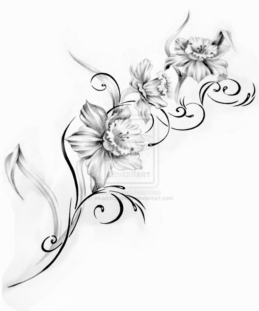 20 Latest Floral Tattoo Designs Ideas And Designs