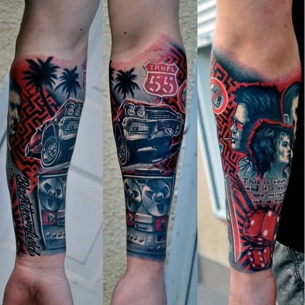 27 Car Parts Tattoos Ideas And Designs