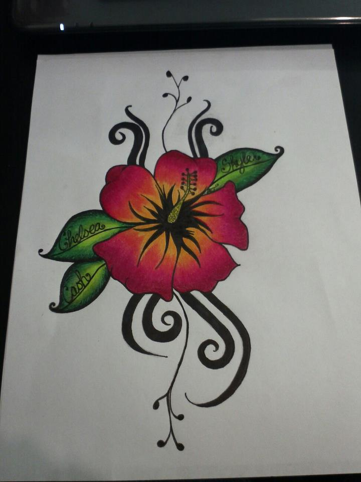 30 Hibiscus Black And White Tattoos Ideas And Designs