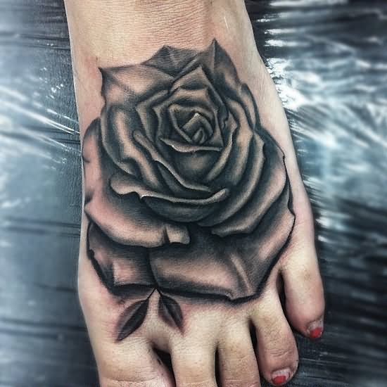 39 Awesome Rose Foot Tattoos Ideas And Designs