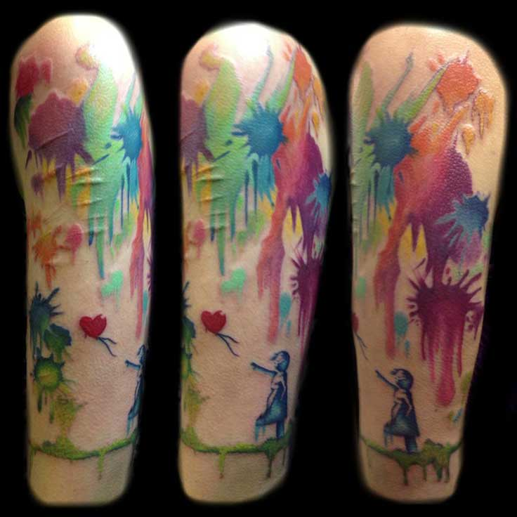 9 Abstract Tattoos On Half Sleeve Ideas And Designs