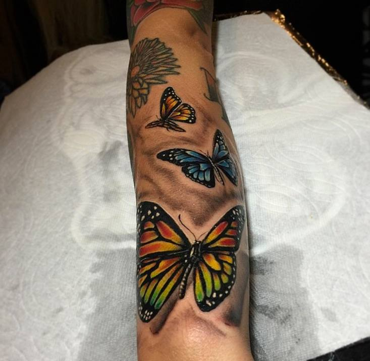 4 Nice Butterfly Tattoos Ideas Ideas And Designs