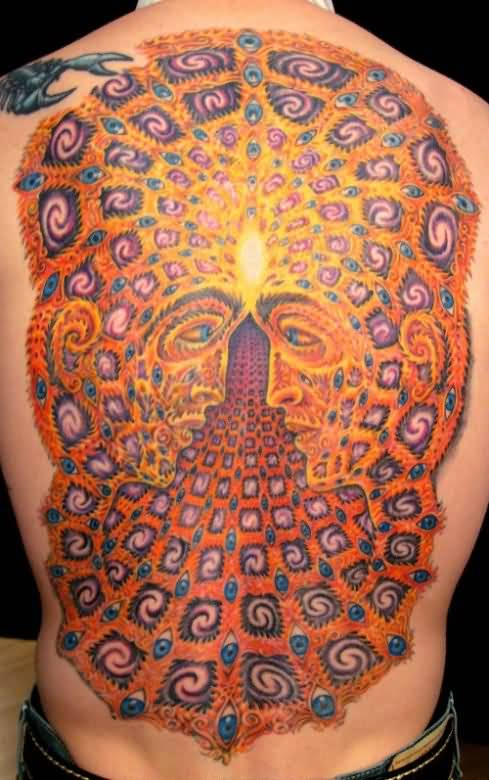 Amazing Alex Grey Tattoo On Full Back Ideas And Designs
