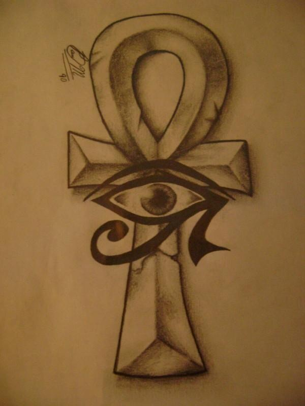 18 Nice Egyptian Ankh Tattoos Ideas And Designs