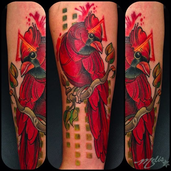Rose Flower And Wolf Tattoo On Left Half Sleeve By Melissa Ideas And Designs