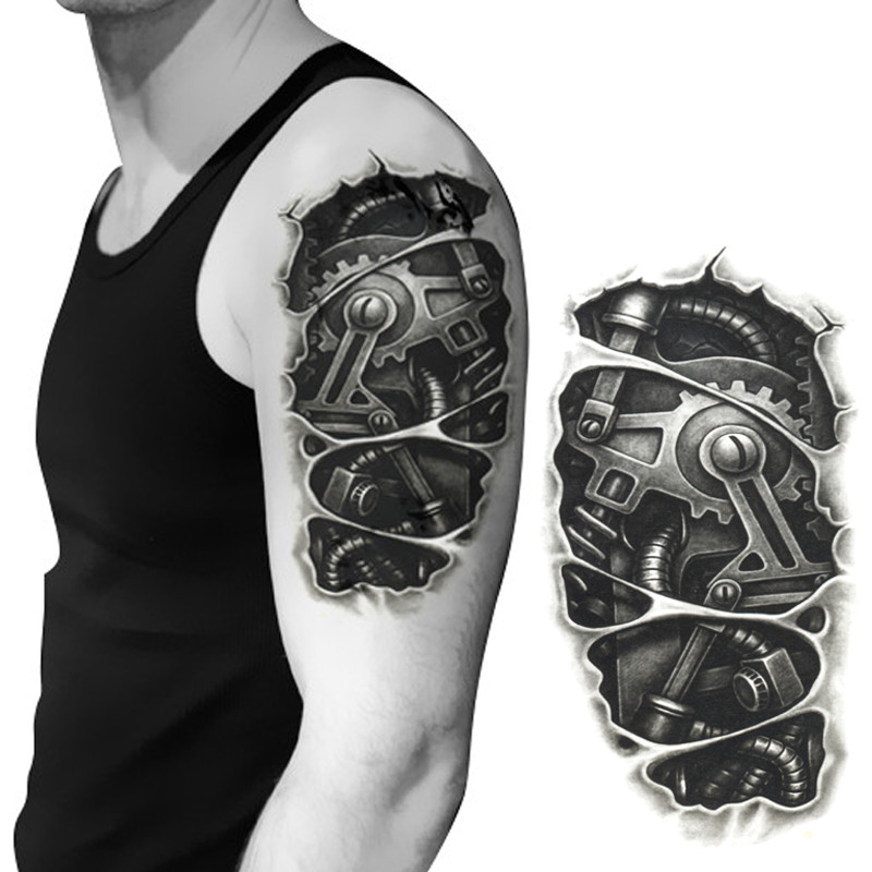 24 Mechanical Tattoo Designs Ideas And Designs