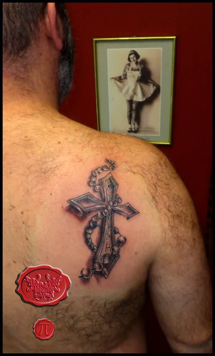 52 Rosary Tattoos For Men Ideas And Designs