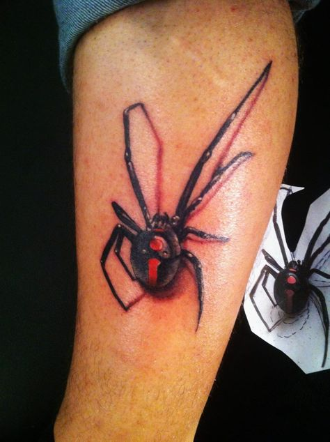 35 Popular Realistic Spider Tattoos Ideas Ideas And Designs