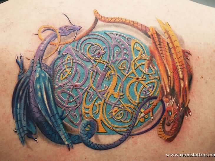 19 Celtic Dragon Tattoos Pictures And Designs Ideas And Designs