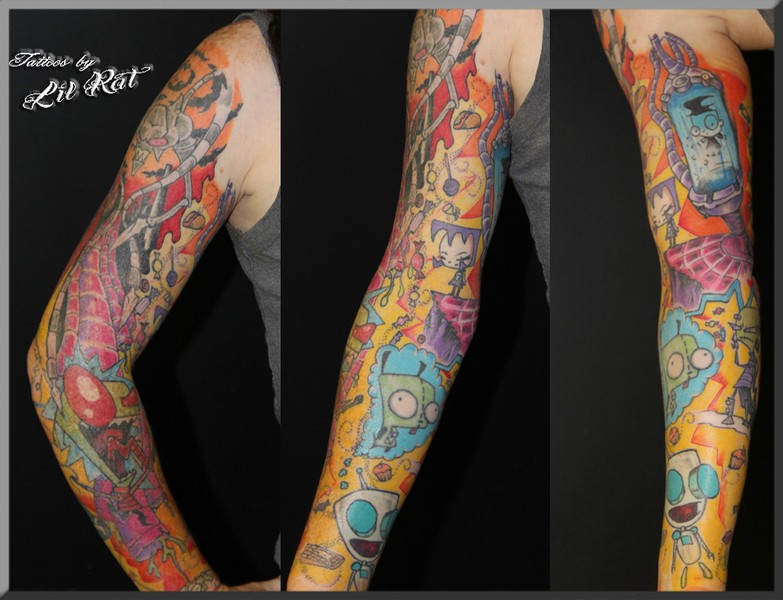 Lil Rat S Tattoo Portfolio And Biography Beyond Taboo Tattoo Ideas And Designs
