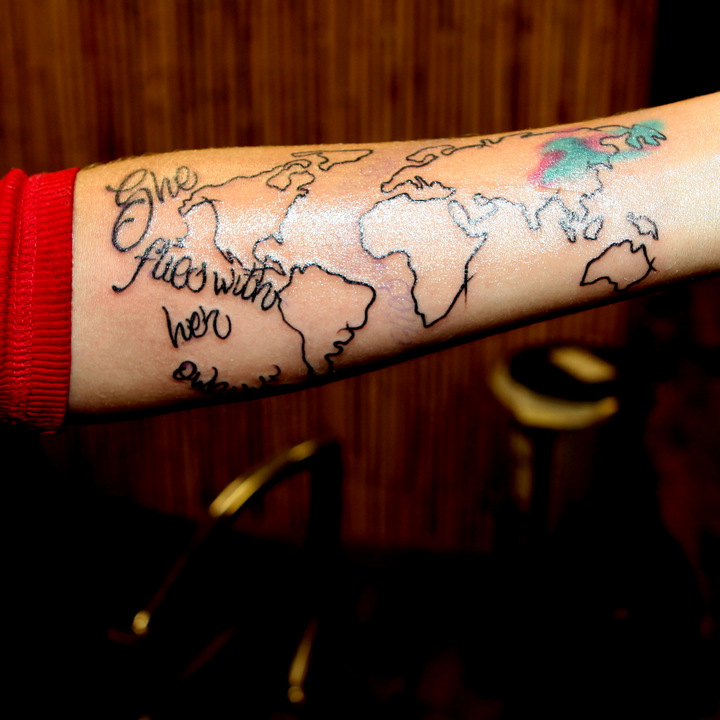 The Travel Tattoo I Finally Decided To Get The Legendary Ideas And Designs