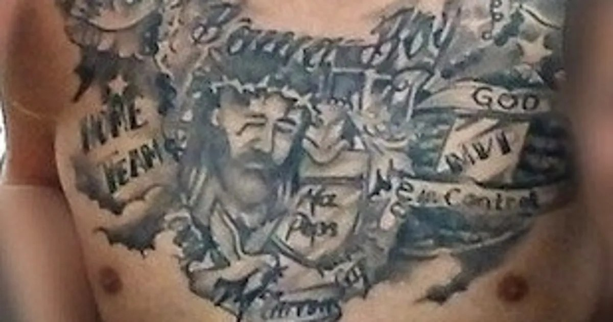 A J Mccarron Has Some New Tattoos That Are Uh Interesting Ideas And Designs