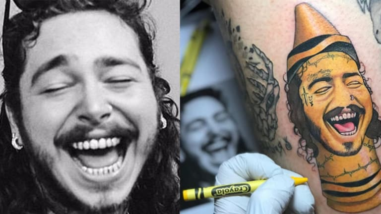 This Oregon Tattoo Artist Turns Celebrities Post Malone Ideas And Designs