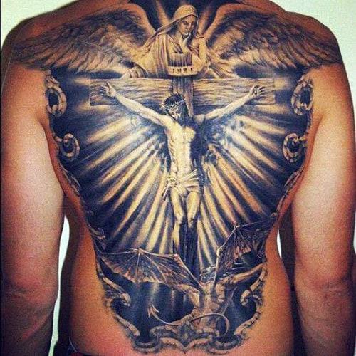 101 Best Cross Tattoos For Men Cool Designs Ideas 2019 Ideas And Designs