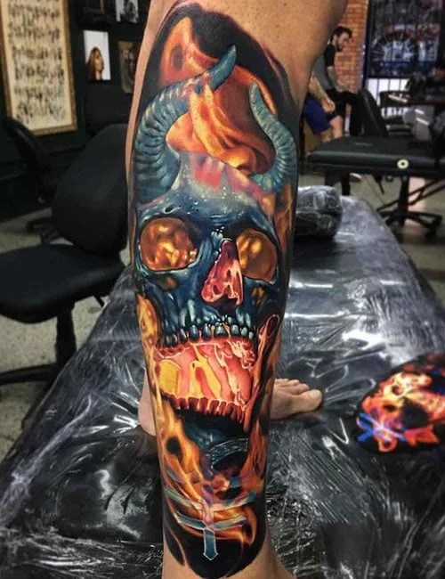 125 Best Skull Tattoos For Men Cool Designs Ideas 2019 Ideas And Designs