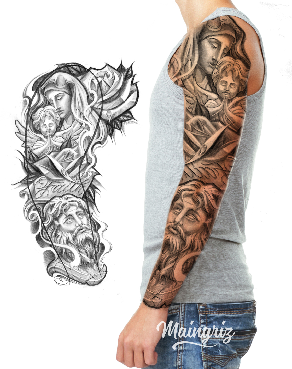 Sleeve Tattoo Design – World Tattoo Design Ideas And Designs