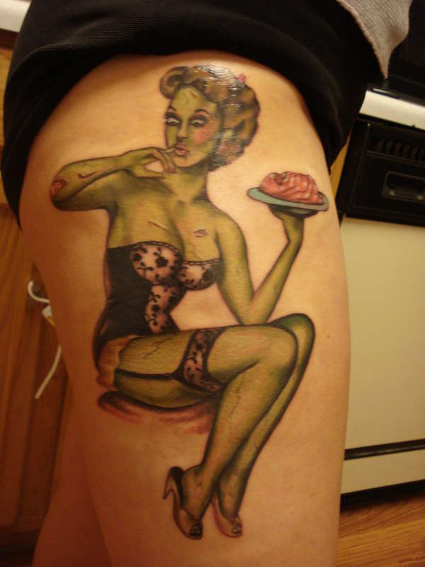 Pinup tattoo meanings | tattoosphoto