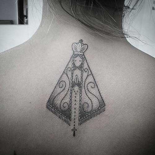 20 fotos de los tatuajes de la Virgen católica!