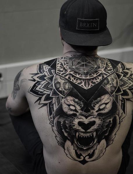 Mandala Tattoos Men