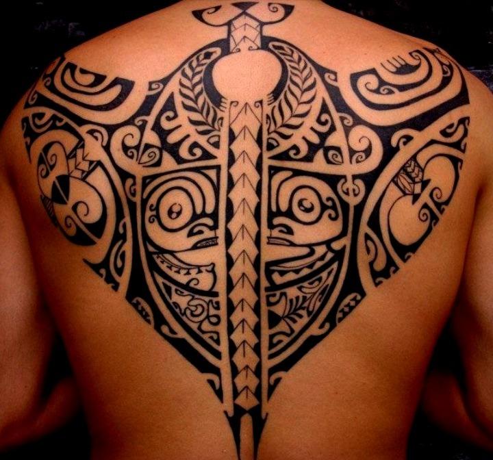 La Espalda Tattoos En Tribales