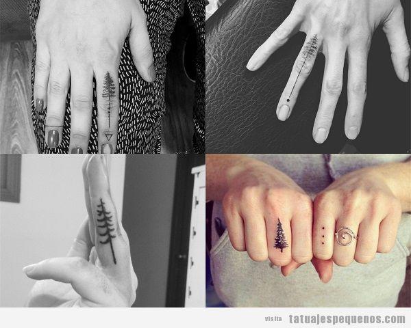 Pequenos Dedos Los Tattoos En
