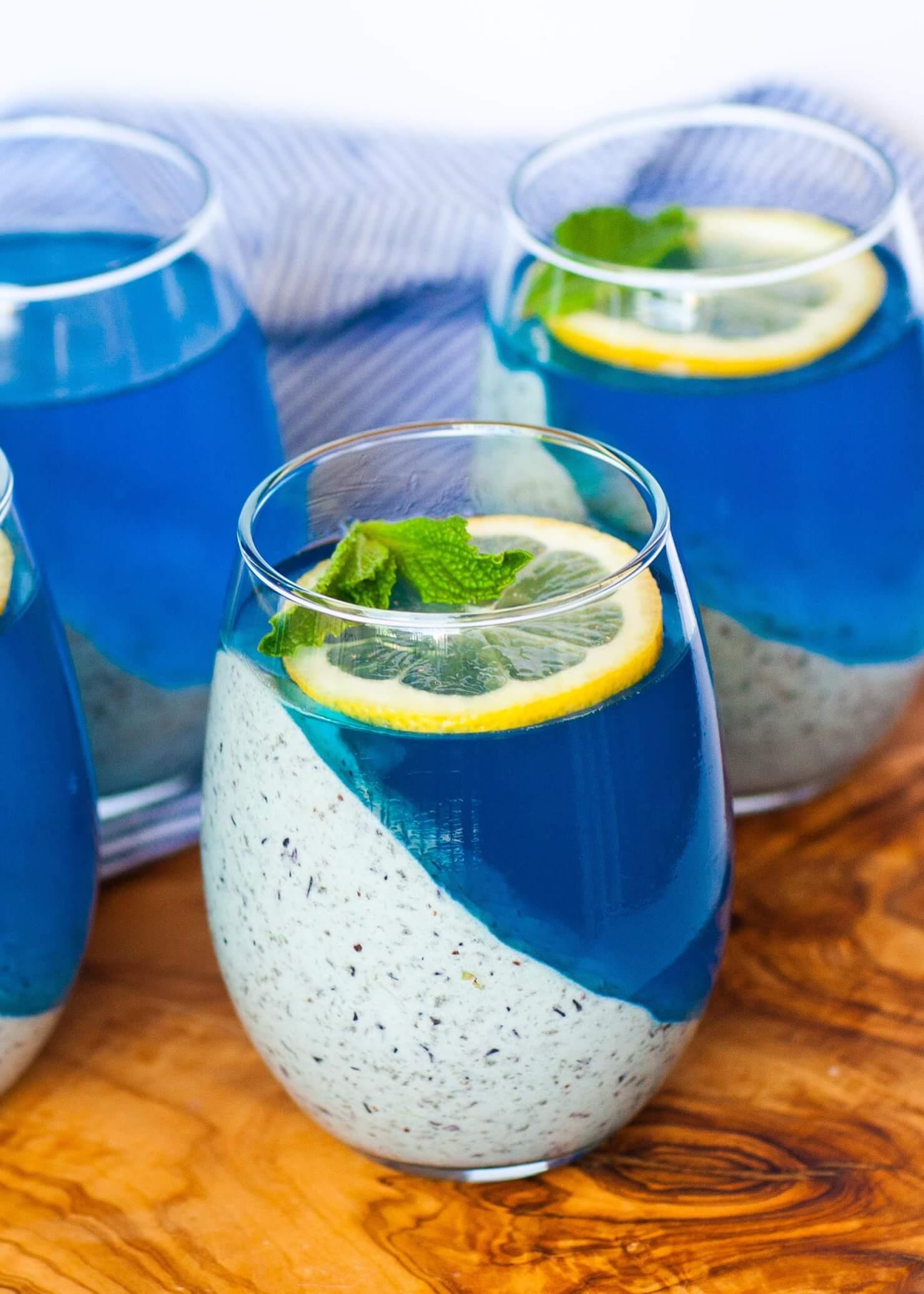 Blueberry Lemon Mousse Parfaits Tatyanas Everyday Food