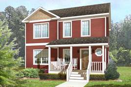 Traditional 2 Story Modular Houses  Home Plans  Norfolk Virginia TRADITIONAL TWO STORY MODULAR HOMES