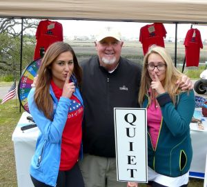 Quiet on the Tee at the 2015 Folds of Honor Spring fundraiser