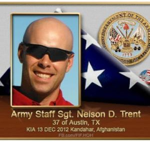 Army Staff Sgt. Nelson D. Trent