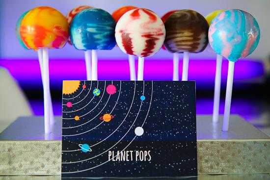 Cake Pops Glow Sticks