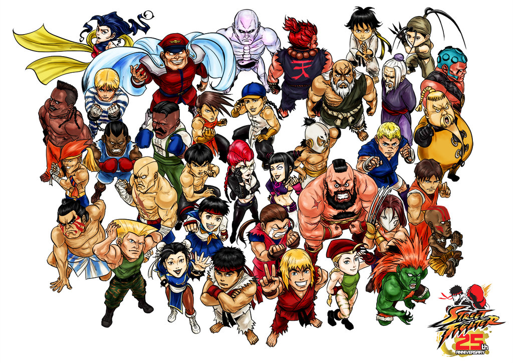 street fighter characters - 1024×724