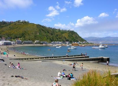 Island Bay beach – Wellington places – Te Ara Encyclopedia ...