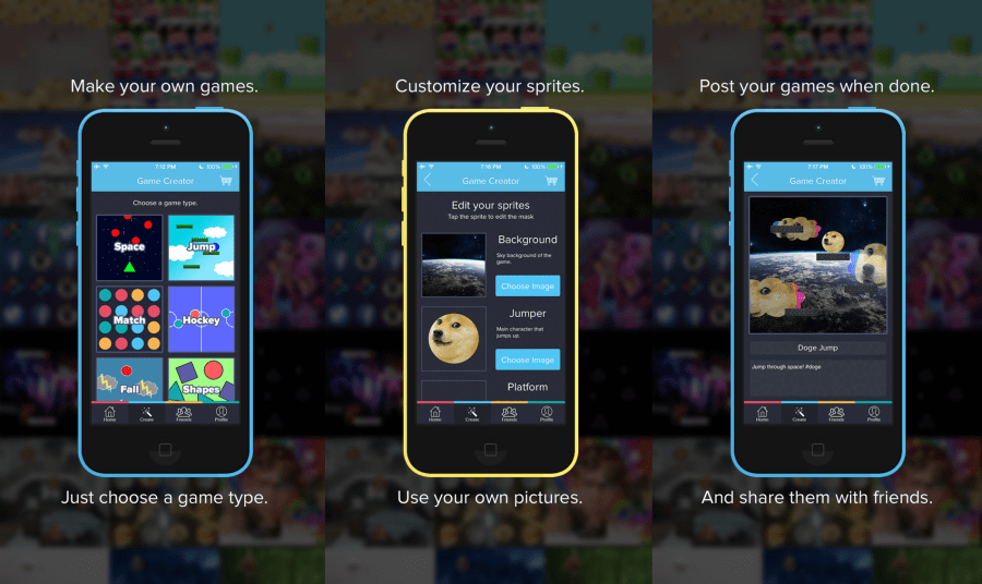 Make Games On Your iPhone With Playr   TechCrunch Aside from the money making behemoths like Candy Crush Saga  one of the  most interesting trends in mobile gaming is the rise of flash in the pan  viral hits