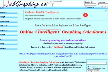 Free Graph Example » holt graphing calculator | Graph Example