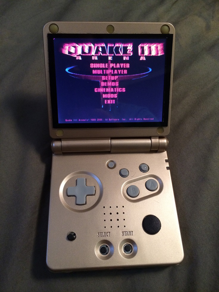 Raspberry Pi Gameboy Advance Emulator