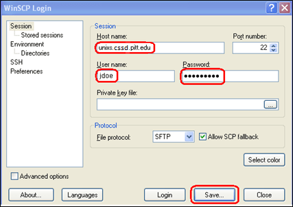 Unix Timesharing Using Ssh And Sftp Windows