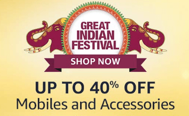 Amazon Great Indian Festival - 2020 Mobile and its spare parts