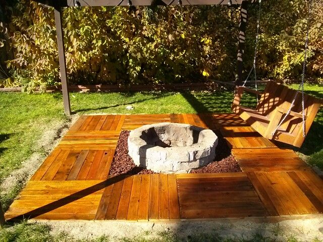 Floating Deck Fire Pit Deck Design And Ideas