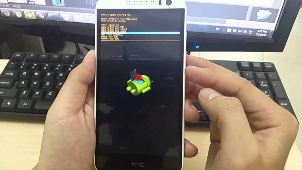 ปุ่มเปิดปุ่มบน Android