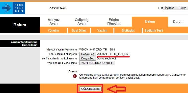 firmware modem zte zxv10 w300