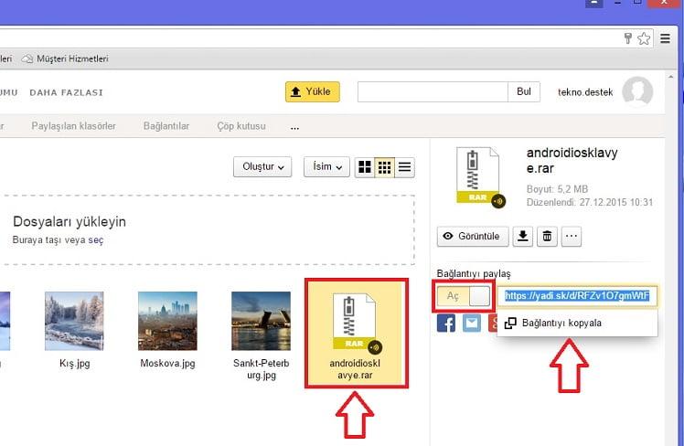 Yandex Disk ile Dosya Depolama ve Paylaşımı Nasıl Yapılır? | TeknoDestek