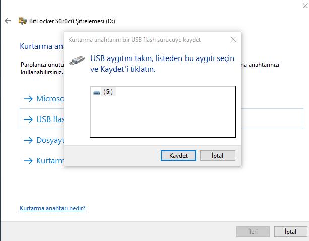 Veri koruması. USB flash sürücüye parola nasıl koyulur