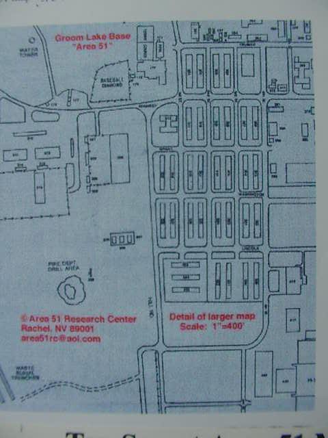 Virtual Tour To Area 51 Base Groom Lake Maps